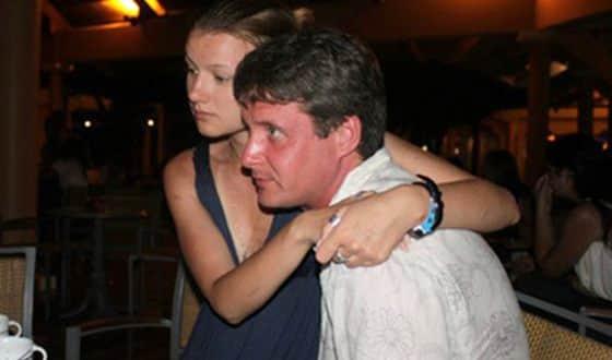 Александр Макогон с женой