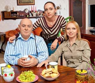 Ирина Мазуркевич с семьей
