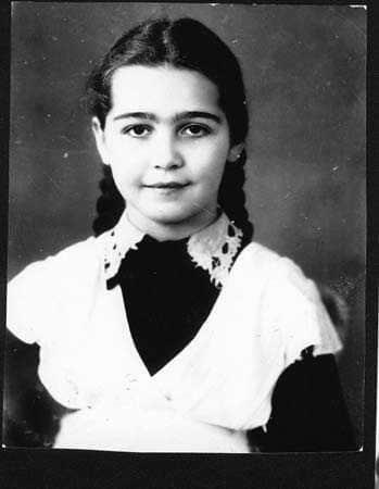 Людмила Марченко в детстве