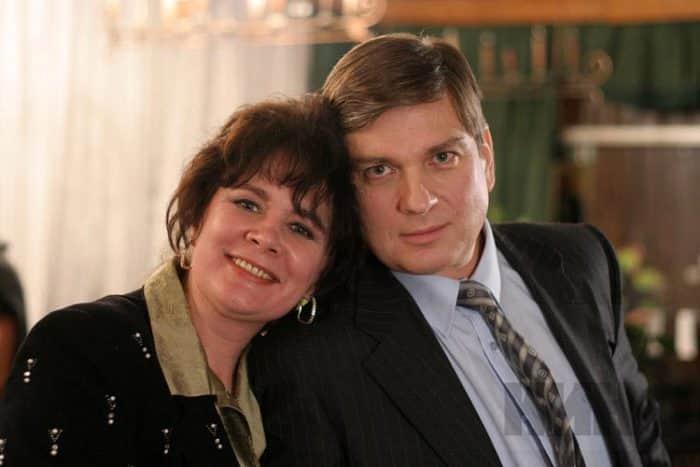 Людмила Нильская с мужем