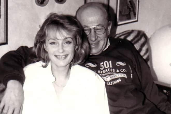 Ирина Цывина с мужем