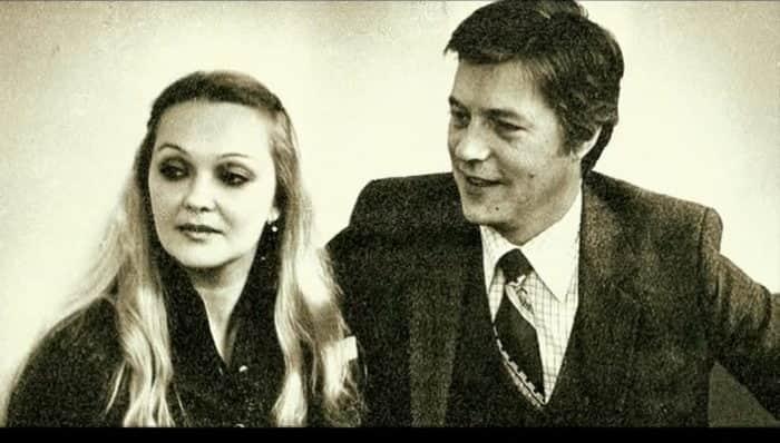 Наталья Гвоздикова с мужем