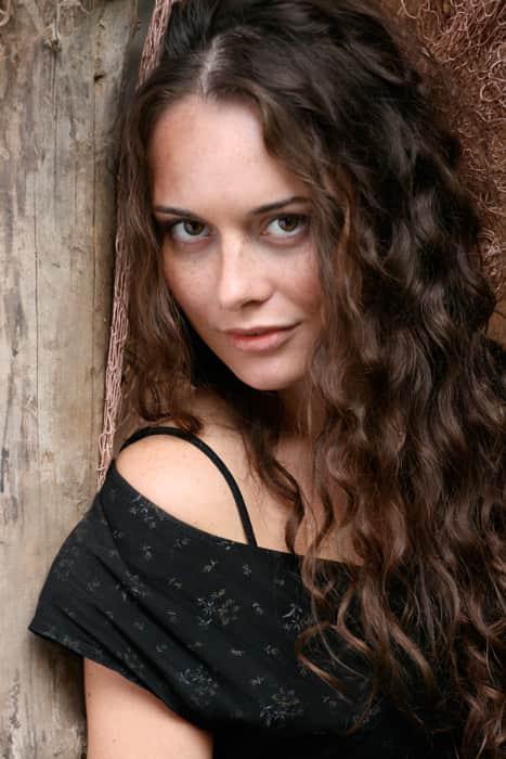 Екатерина Олькина в юности