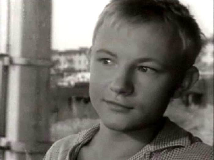 Михаил Кононов в детстве