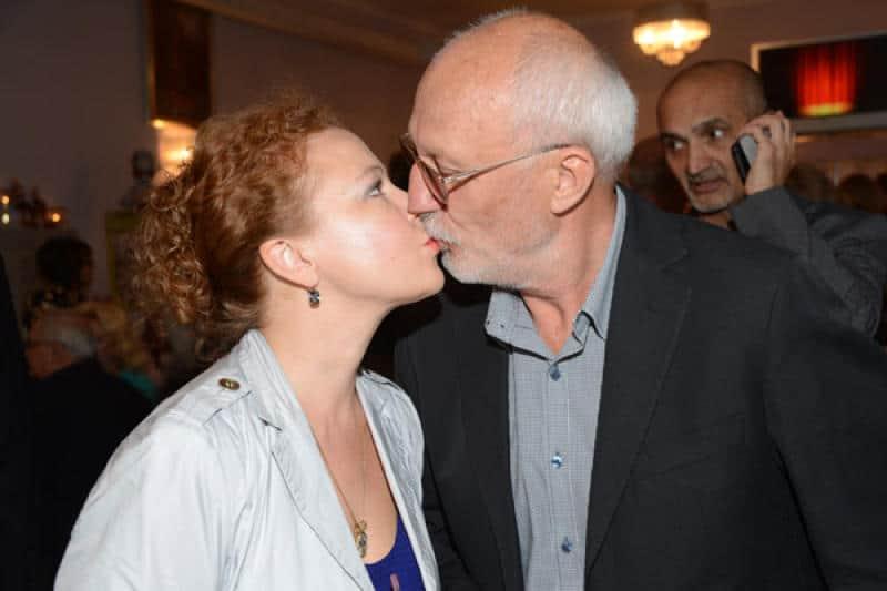 Юрий Беляев с женой Татьяной Абрамовой