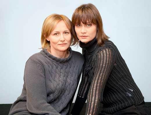 Елена Шевченко с дочерью