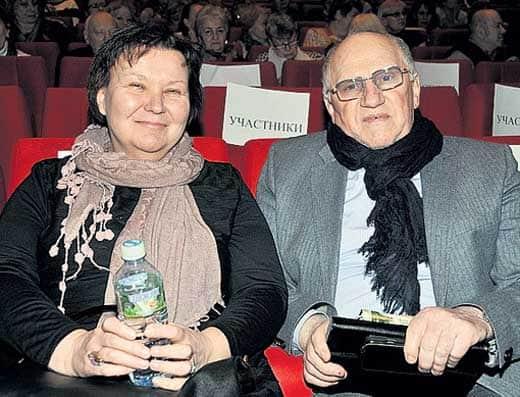 Валерий Баринов с женой