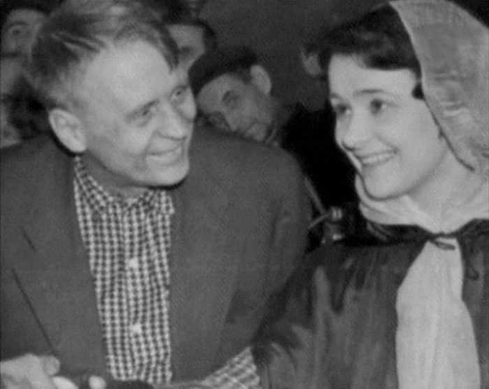 Людмила Марченко и Иван Пырьев