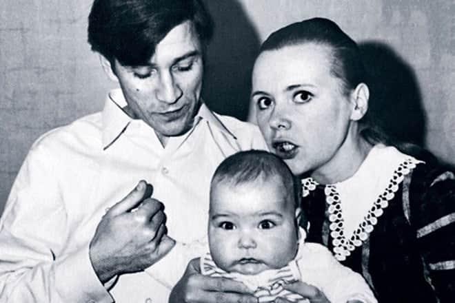 Кирилл Гребенщиков с родителями