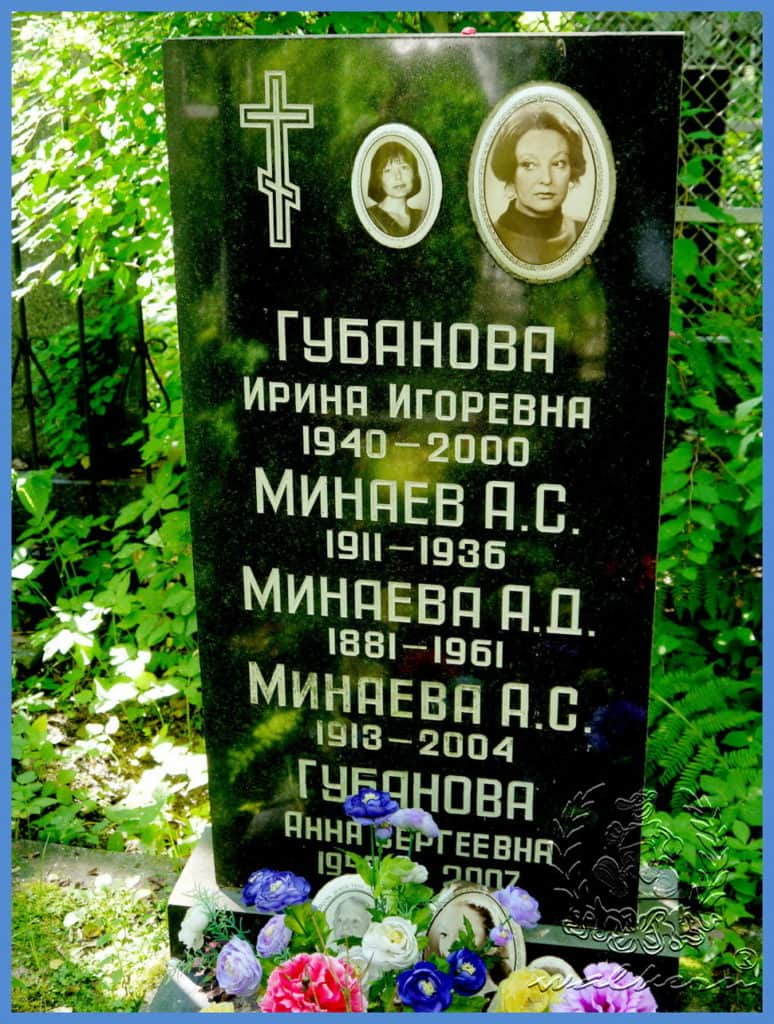 Фото: Ирина Губанова могила