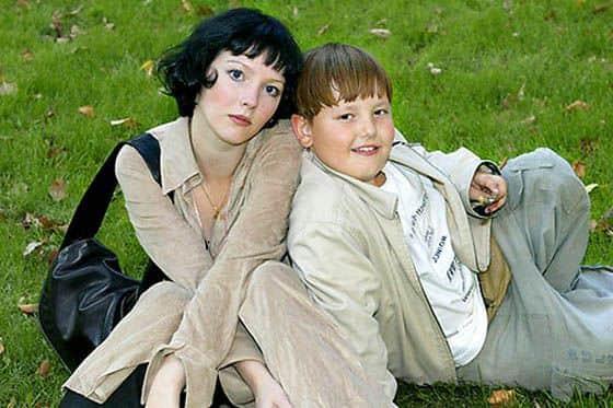 Ольга Понизова в с сыном