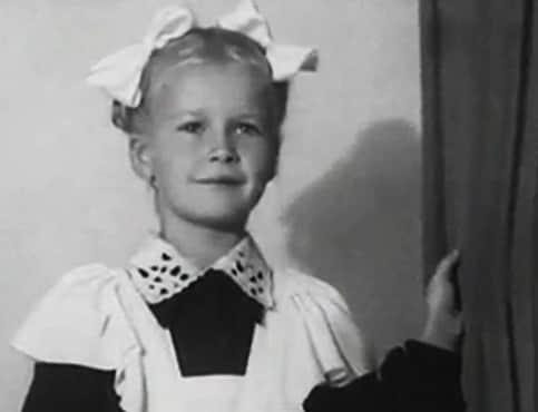 Наталья Богунова в детстве