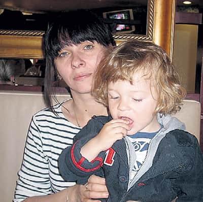 Сын и жена Федора Стукова