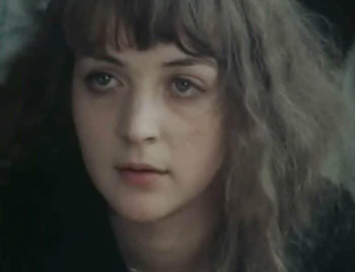 Наталья Стриженова в детстве