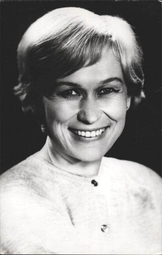 Майя Булгакова в молодости