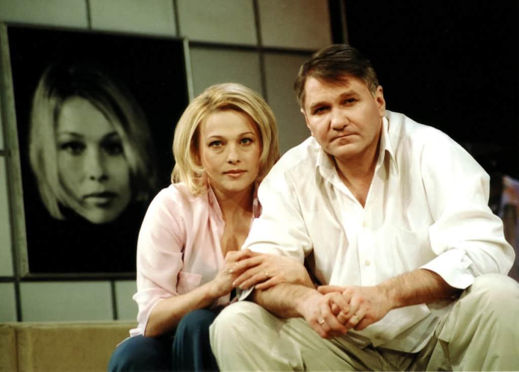 Анна Легчилова с мужем