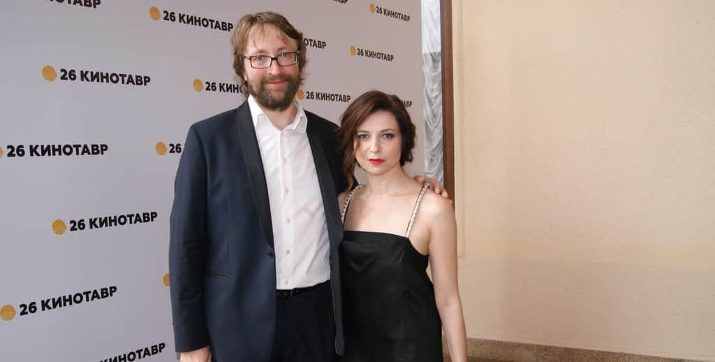 Алиса Хазанова с мужем