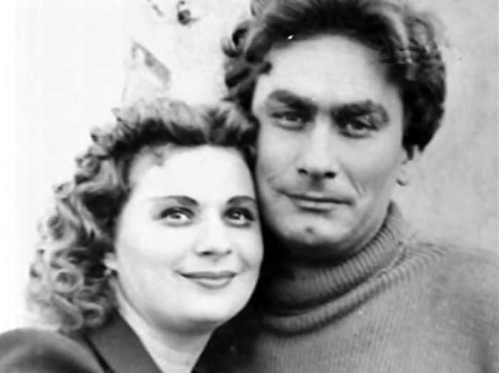 Владимир Самойлов с женой