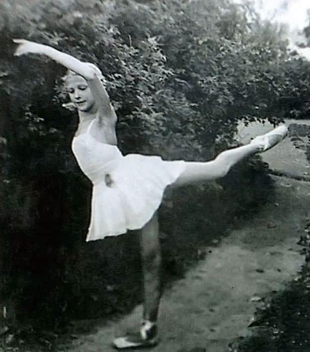 Светлана Дружинина в детстве