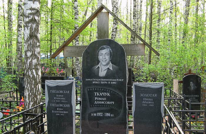 могила Романа Ткачук