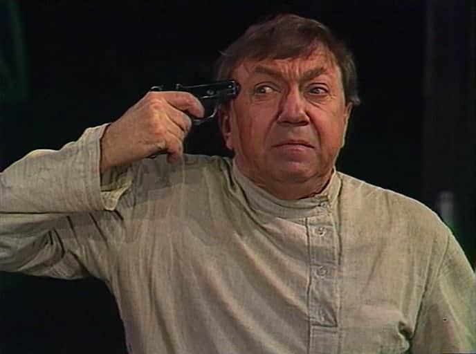 Роман Ткачук в театре