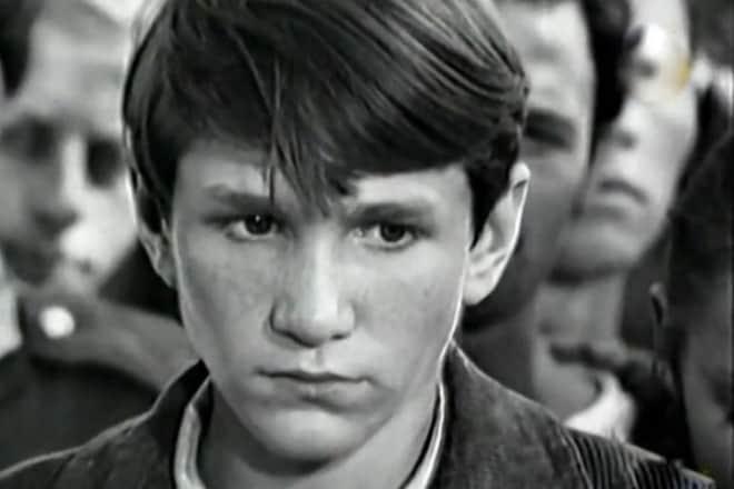 Игорь Бочкин в детстве