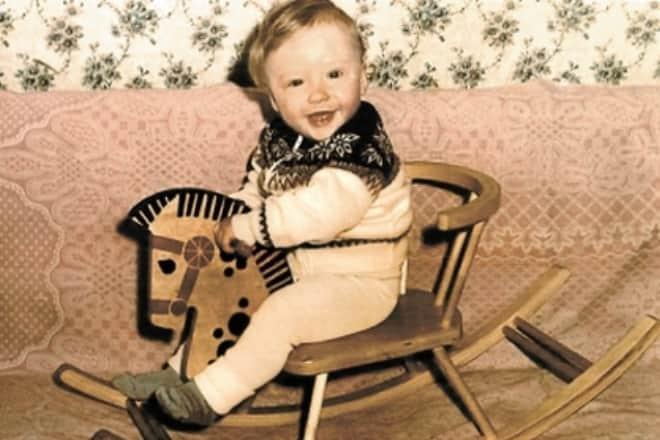 Дмитрий Пчела в детстве