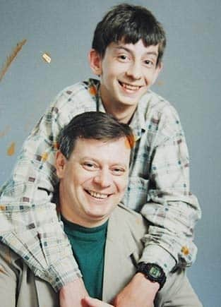 Вадим Андреев с сыном