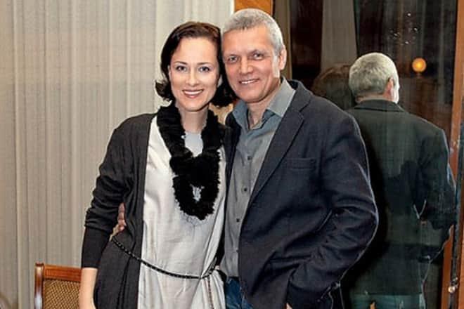 Александр Галибин с женой