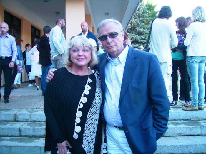 Лев Прыгунов с женой