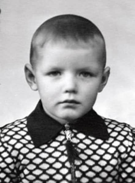 Александр Галибин в детстве
