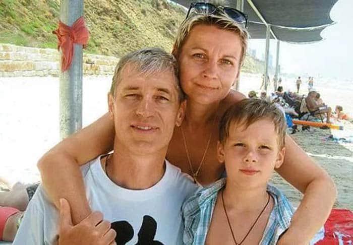 Сергей Варчук с семьей