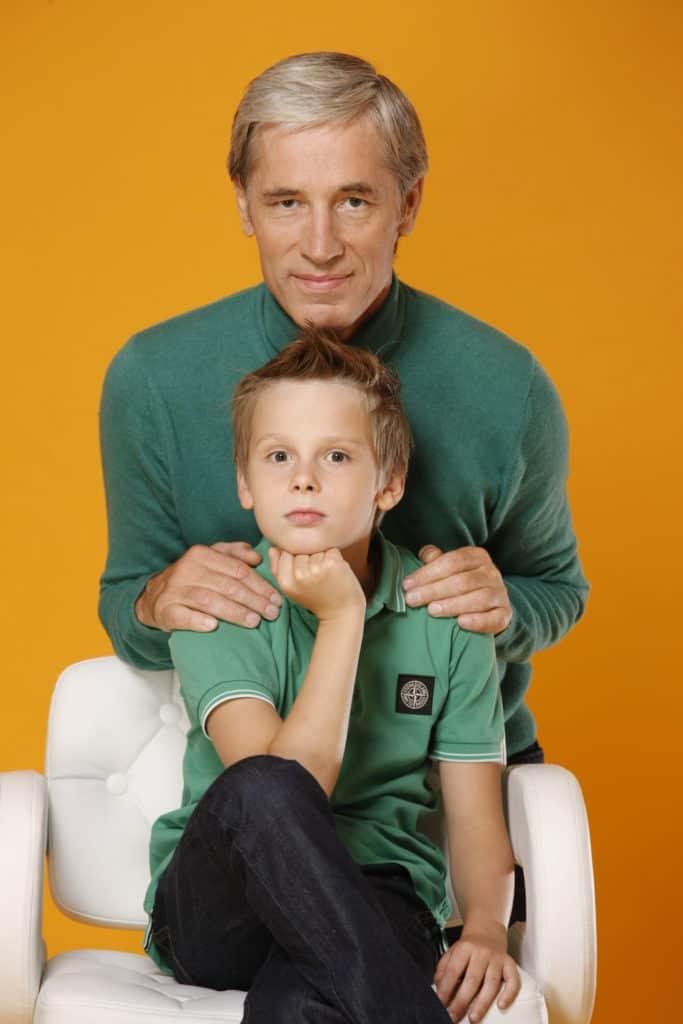 Сергей Варчук с сыном