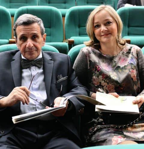 Борис Смолкин с женой