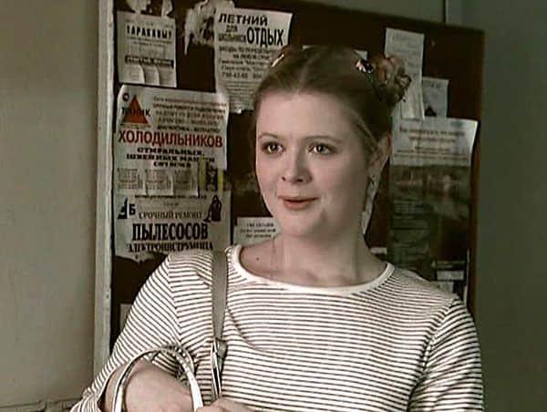 Дарья Калмыкова в юности