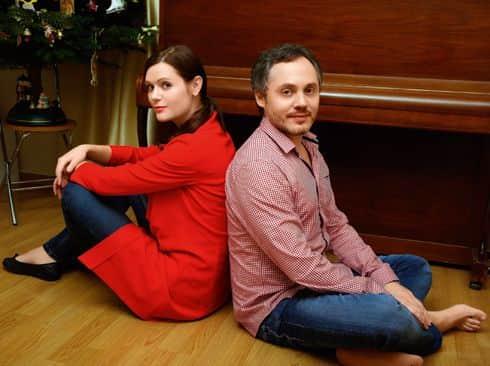 Дарья Калмыкова с мужем