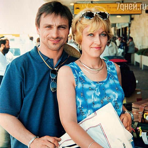 Дмитрий Иосифов с женой