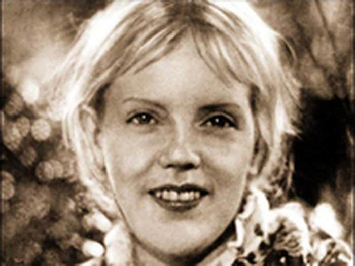 Марина Ладынина в юности