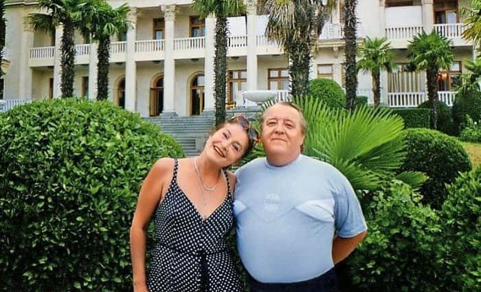 Валерия Заклунная с мужем