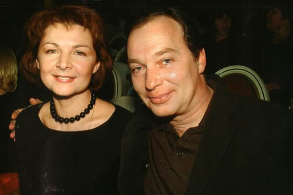 Лика Нифонтова и ее муж Сергей Урсуляк