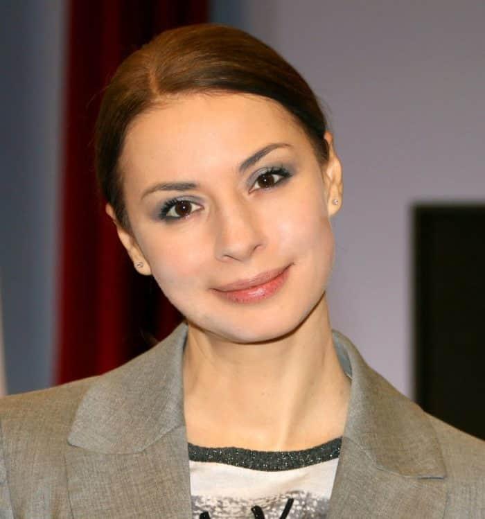 Ирина Лачина в молодости
