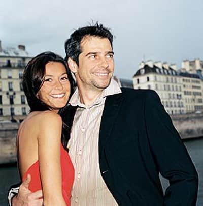 Павел Делонг с женой