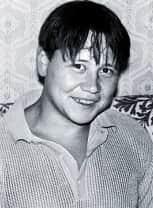 Юный Юрий Степанов