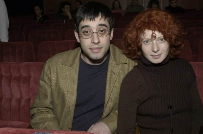 Амалия Мордвинова с бывшим мужем