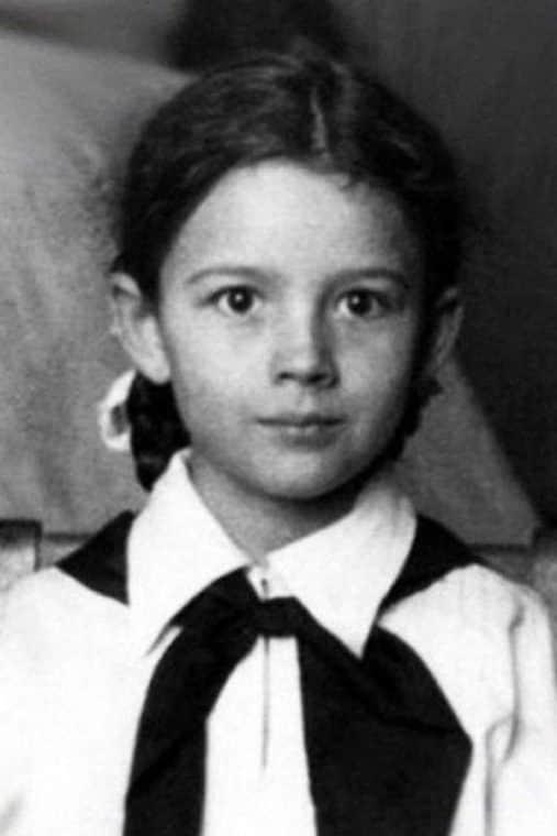 Наталья Варлей в детстве
