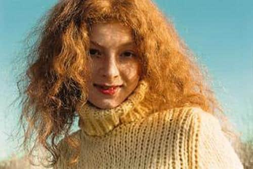 Амалия Мордвинова в юности