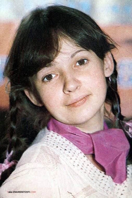 Татьяна Аксюта в детстве