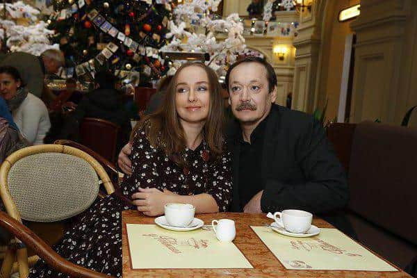 Владислав Ветров и его жена