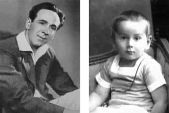 Ростислав Плятт и его дочь