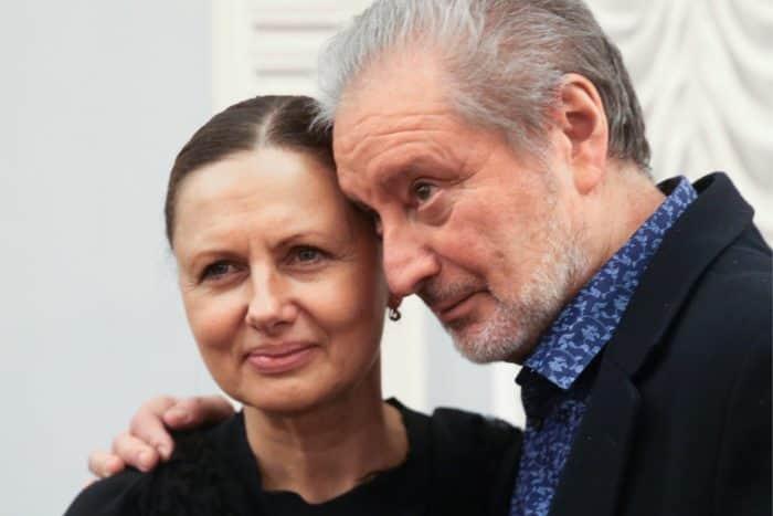 Вениамин Смехов с женой